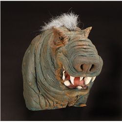 Production-made Borra hand puppet from The Ewok Adventures