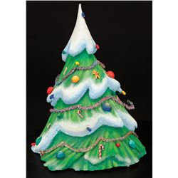 Background Christmas tree from The Nightmare Before Christmas