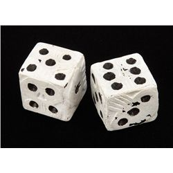 Oogie Boogie pair of dice from The Nightmare Before Christmas