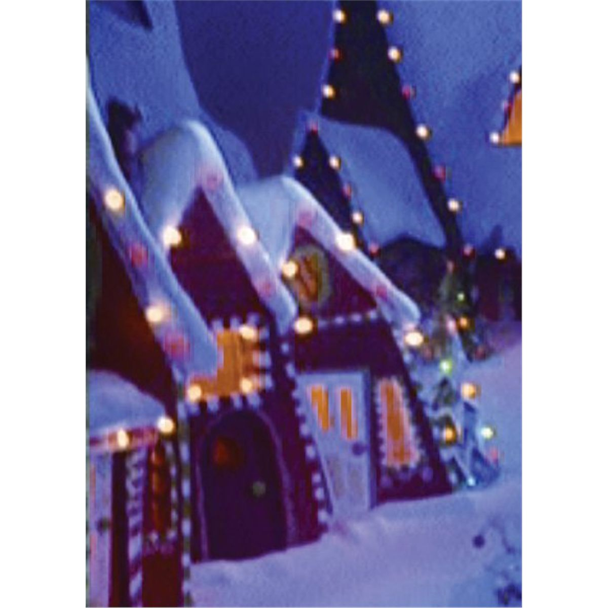 Christmas Town houses from The Nightmare Before Christmas