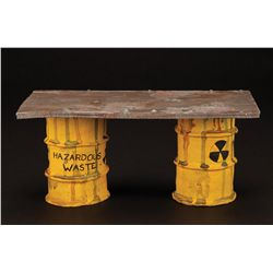 Hazardous Waste table from The Nightmare Before Christmas
