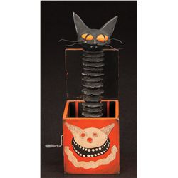Cat in the box toy from The Nightmare Before Christmas