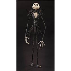 Early Jack Skellington sculpt used in the first animation tests of The Nightmare Before Christmas