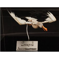 Stop-motion seagull puppet from James and the Giant Peach