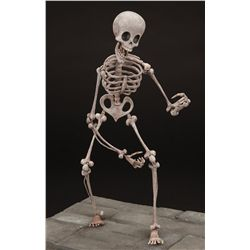 Hero skeleton stop-motion puppet from Corpse Bride