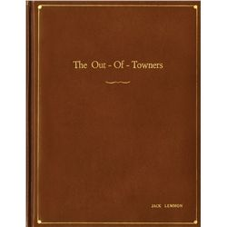 The Out of Towners script