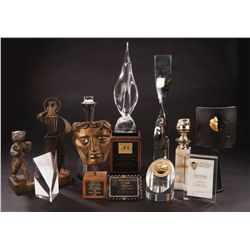Collection of awards presented to Jack Lemmon