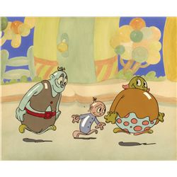 Ub Iwerks Balloon Land original production cel on original background