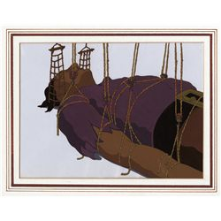 Original production cel of Gulliver from Gulliver's Travels