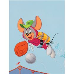 Walter Lantz Space Mouse puzzle artwork