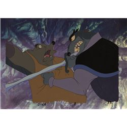 Three original production cels from The Secret of NIMH