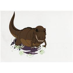 Three original production cels from The Land Before Time