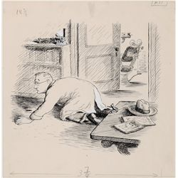 Original drawing by Garth Williams for E. B. White's book Stuart Little