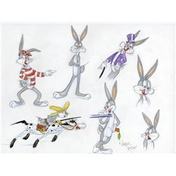 Bugs Bunny original Virgil Ross drawing