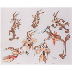 Wile E. Coyote original Virgil Ross drawing