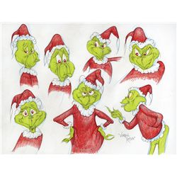 The Grinch original Virgil Ross drawing