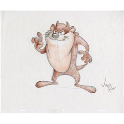 Tasmanian Devil original Virgil Ross drawing