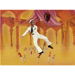 Original production background from Invitation to the Dance