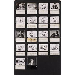Johnny Carson storyboard for Folgers Coffee commercial