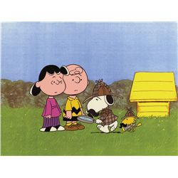 Original production model cel from It's a Mystery, Charlie Brown