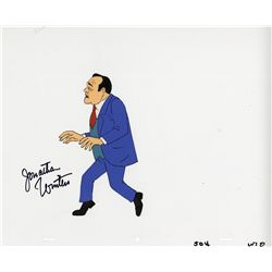 Original production cel of Jonathan Winters from The New Scooby-Doo Movies, signed