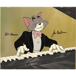 Tom and Jerry/The Cat Concerto original hand-painted publicity cel set up