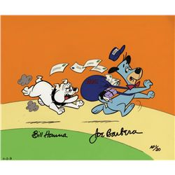 Mailman Huck 1988 Hanna-Barbera artist proof limited edition cel