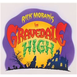 Gravedale High original master logo title artwork