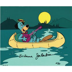 Huck in a canoe 1988 Hanna-Barbera artist proof limited edition cel