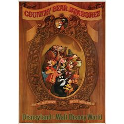 Disneyland attraction poster for Country Bear Jamboree