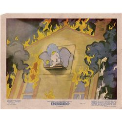Collection of 16 UK front-of-house lobby cards for Dumbo and Pinocchio