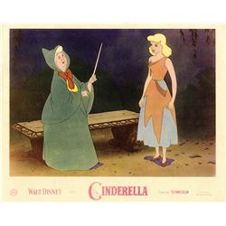 Collection of 25 UK front-of-house lobby cards for Cinderella, Alice in Wonderland & Sleeping Beauty