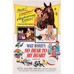 Walt Disney classic live-action collection of (10) 1-sheet posters, including So Dear to my Heart