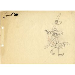 Rare original production drawing from The Merry Dwarfs