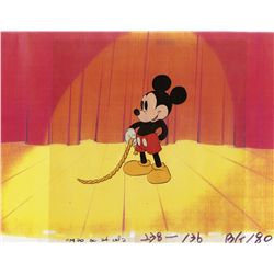 Original production cel of Mickey from Society Dog Show