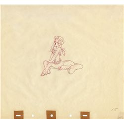 Original production drawing of Centaurette from Fantasia