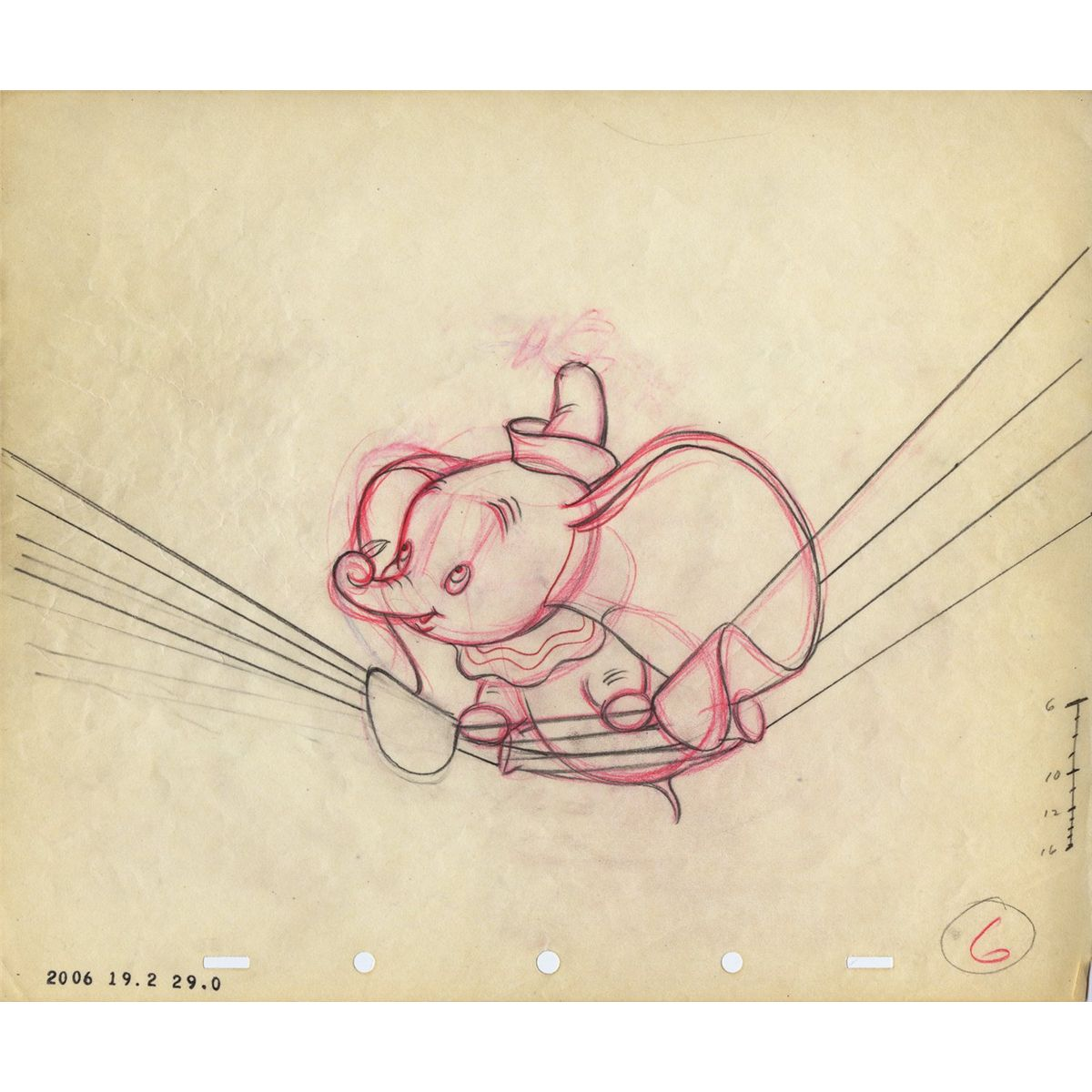 Dumbo Drawing Drawing From Dumbo