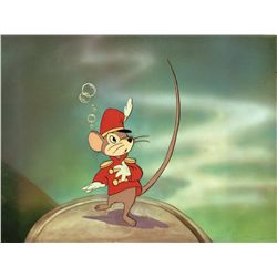 Original production cel and production background of Timothy from Dumbo