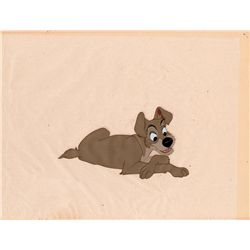 Tramp original production cel from Lady and the Tramp