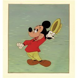 1958 Mickey Mouse on original production background