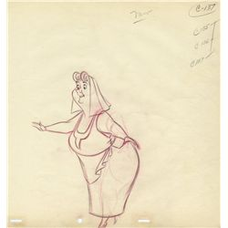 Three original production drawings from Sleeping Beauty