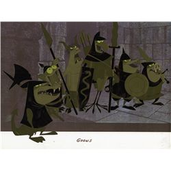 Original production cel of Goons grouping from Sleeping Beauty