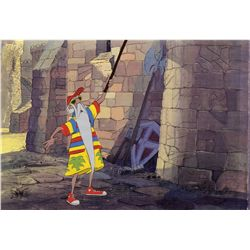 Merlin original production cel from The Sword in the Stone
