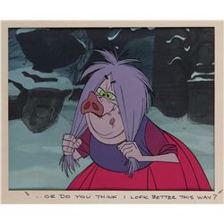 Madame Mim original production cel from The Sword in the Stone