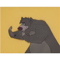 Original production cel of Baloo from The Jungle Book