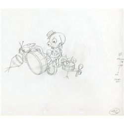 Original production drawing and model drawing from Bedknobs and Broomsticks