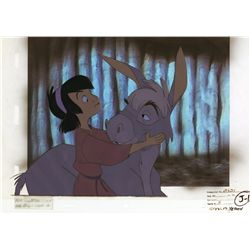 Small One with Boy original production cel from The Small One