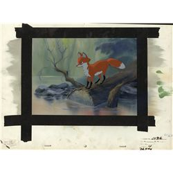 Original James Coleman concept art from The Fox and the Hound