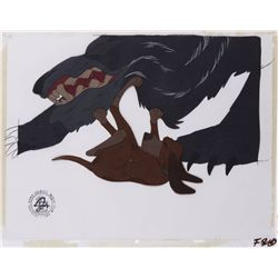 Pair of original production cels from The Fox and the Hound