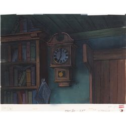 Original production background from Mickey's Christmas Carol